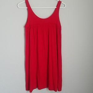 Swimwear cover mini dress